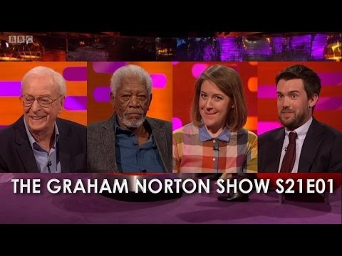 The Graham Norton Show S21E01- Sir Michael Caine, Morgan Freeman, Gemma Whelan, Jack Whitehall