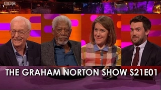 connectYoutube - The Graham Norton Show S21E01- Sir Michael Caine, Morgan Freeman, Gemma Whelan, Jack Whitehall