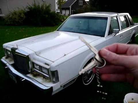 1988 Lincoln Town Car Update Youtube