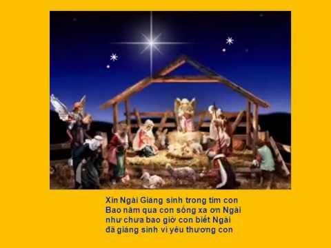 Xin Ngài Giáng Sinh Trong Tim Con (Bosco Thiện-Bản)