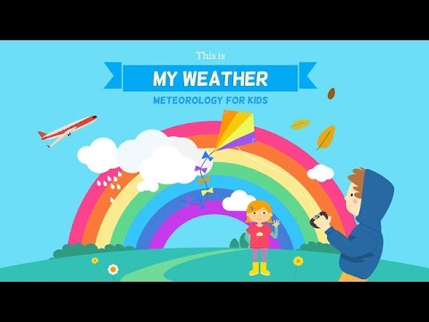 This is my Weather - Meteorology for Kids - Best iPad app demo for kids