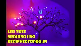 How to make a glowing tree under Rs.200