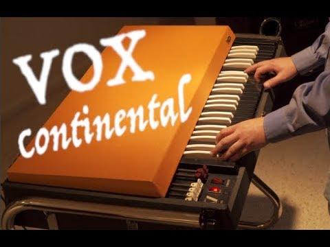 1966 Vox Continental Demo