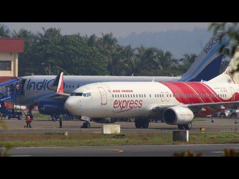 Air India Express B737-800 Takeoff From Calicut Int'l Airport   HD