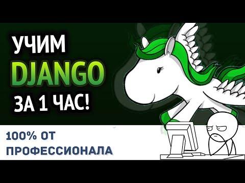 Учим Python DJANGO за 1 час! #От Профессионала