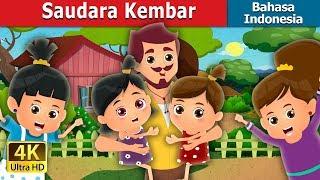 Saudara Kembar   The Twin Sisters Story in Indonesian   Dongeng Bahasa Indonesia