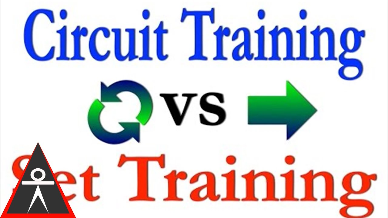 Set Training vs Circuit Training - The Red Delta Project