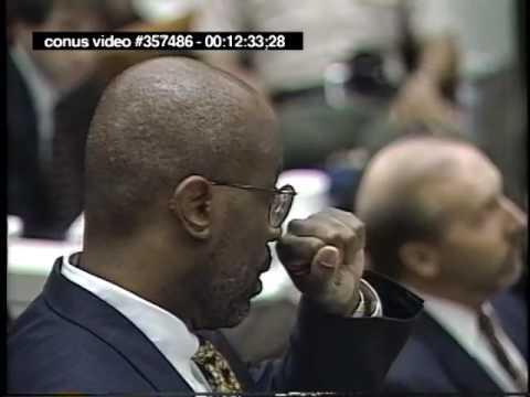 OJ Simpson Trial - September 1st, 1995