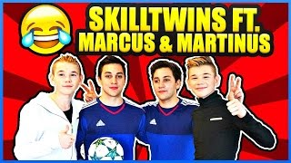 MARCUS & MARTINUS x SKILLTWINS: Funny Football Twin Challenges & Having Fun! ★