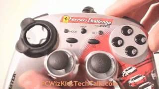 Thrustmaster Ferrari Motors Gamepad F430 - Video Review