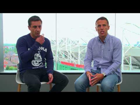 Phil Neville discusses Paul Pogba