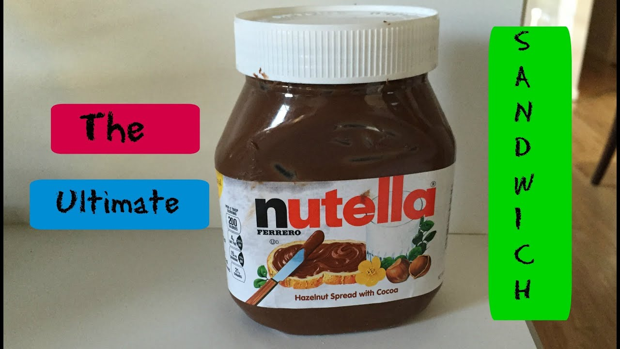 Download THE ULTIMATE NUTELLA SANDWICH