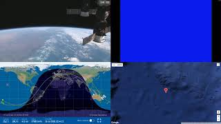Indonesian And Australian Coastlines - NASA/ESA ISS LIVE Space Station With Map - 26 - 2018-07-16
