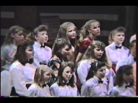 Ansted Middle School Chorus 1993