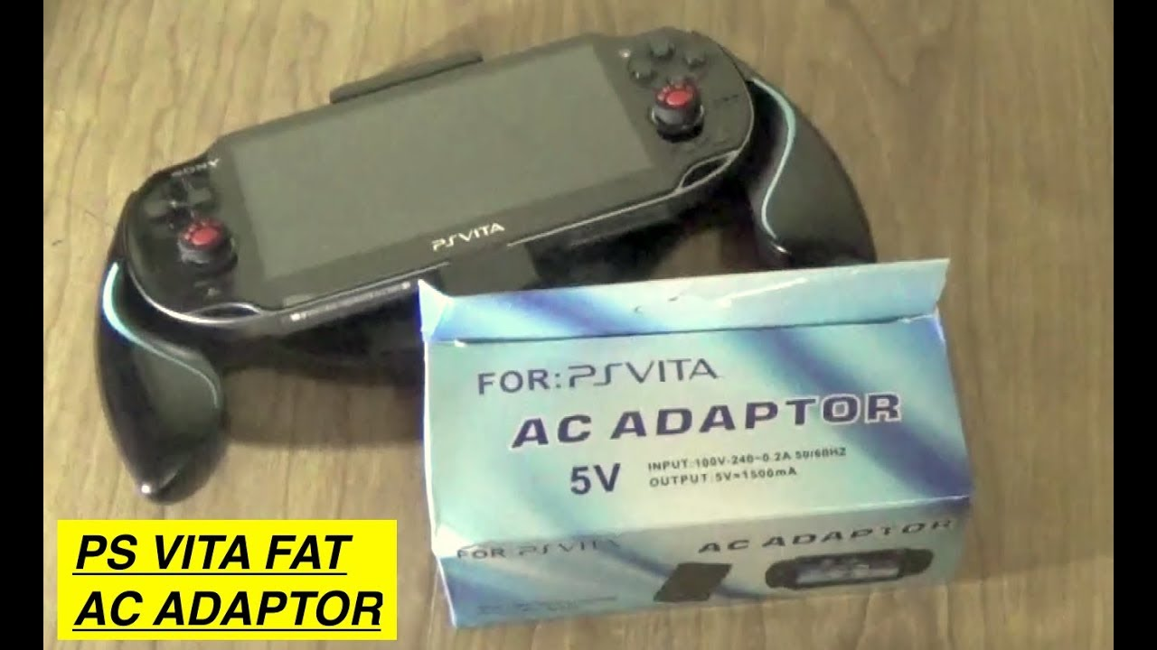 PS VITA FAT 1000 Charger AC Adaptor Replacement (Watch This Before Buying)