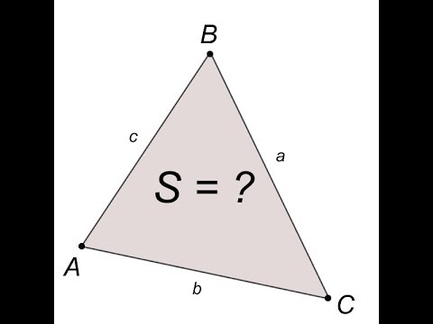 Как найти площадь треугольника, зная координаты его ...