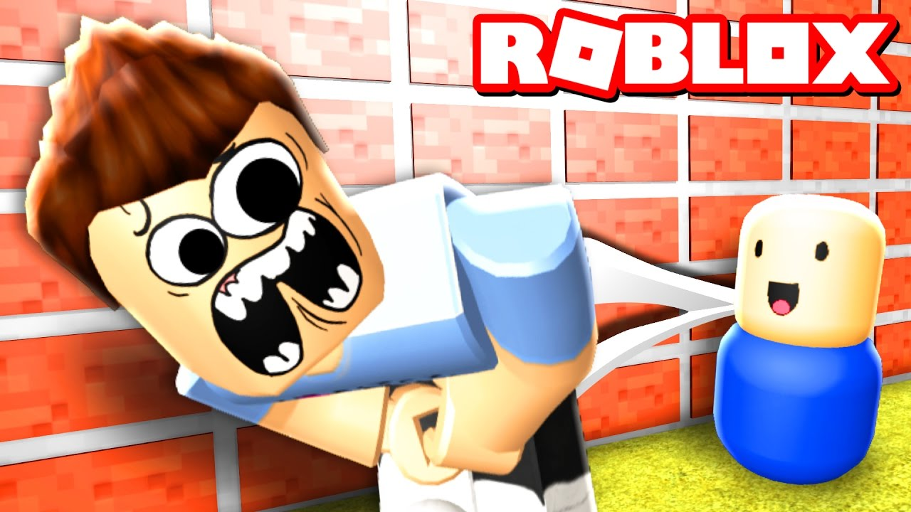 6d4b4345bc BULLIED BY A BABY IN ROBLOX - YouTube