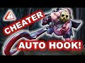 Dota 2 Suspected Cheater Pudge Using AUTO HOOK Dismember mp3