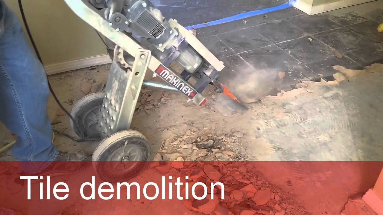Tile demolition youtube tile demolition dailygadgetfo Images