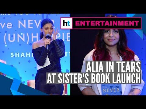 Alia Bhatt breaks down at sister Shaheen Bhatt's book launch Mp3