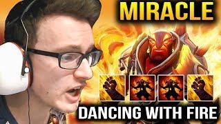 Miracle Ember Spirit is Always Fun To Watch Dota 2 7.11