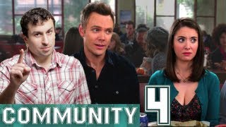"COMMUNITY S4 Spoilers: Jeff and Annie 'Shipping, Comic Con ""Spacetime"" and Hunger Deans!"
