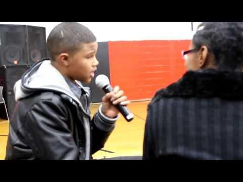 Chris Brown This Christmas Video (Live Performance Markie)