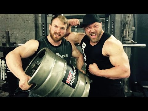 German Champion Training - Bodybuilding meets Strongman