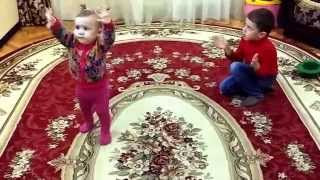 Супер Лезгинка 2015 Малышка Танцует! / The super  The super Lezgian 2014 Baby Dances!