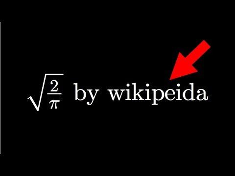 It wasn't me, it was wikipedia