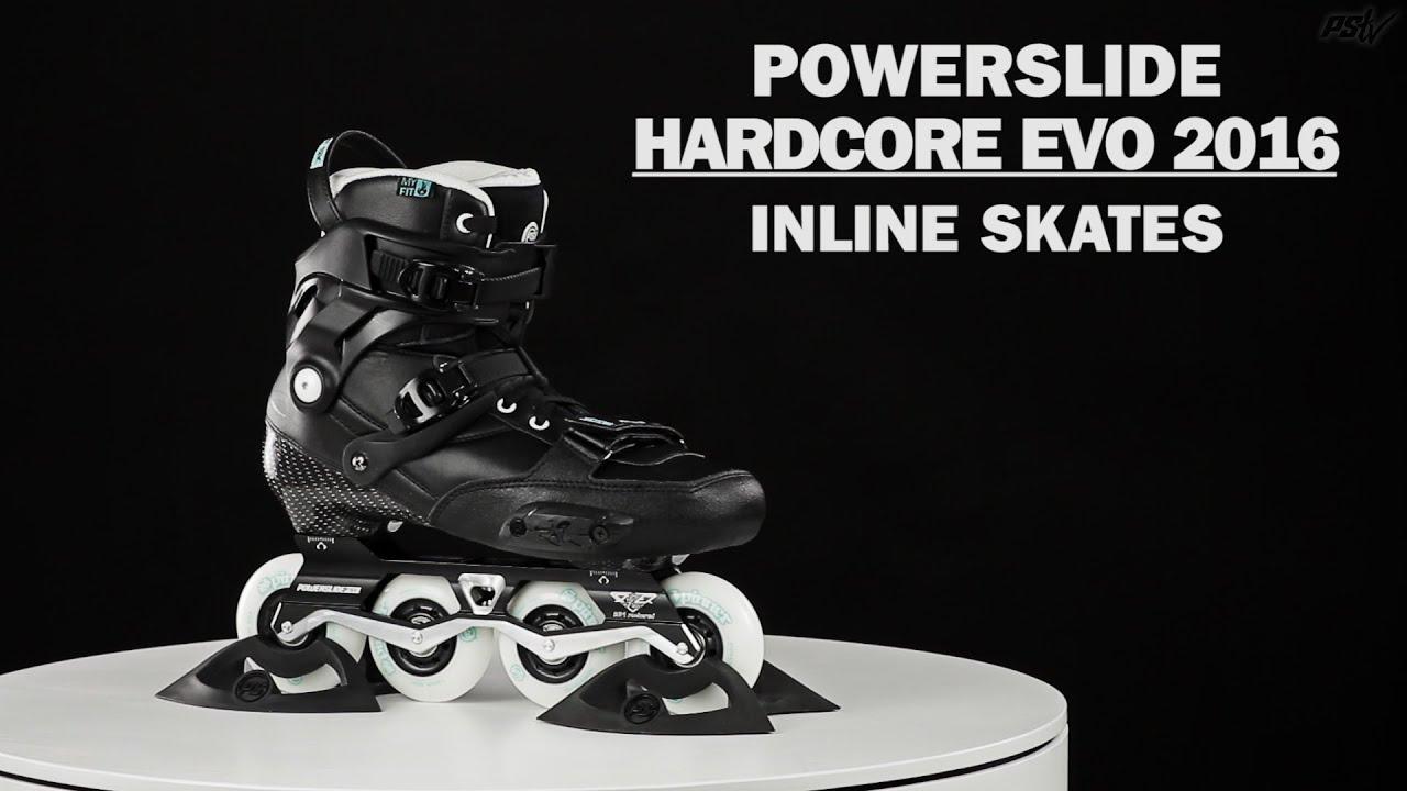 Hardcore Evo 2016 skates Powerslide Freestyle vnwm8N0O