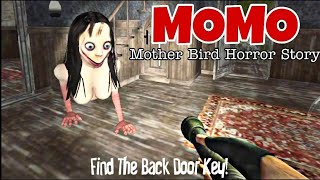 Momo Part 2 - Mother Bird Horror Story  Complete roid Gameplay  by Poison Games