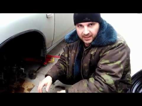 Замена переднего тормозного шланга ВАЗ 2110