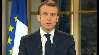 🔴 Suivez les annonces de Macron sur le coronavirus