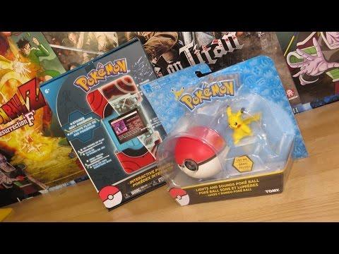 Pokémon Light & Sounds Poké Ball + Interactive Pokédex! | ToyCollection