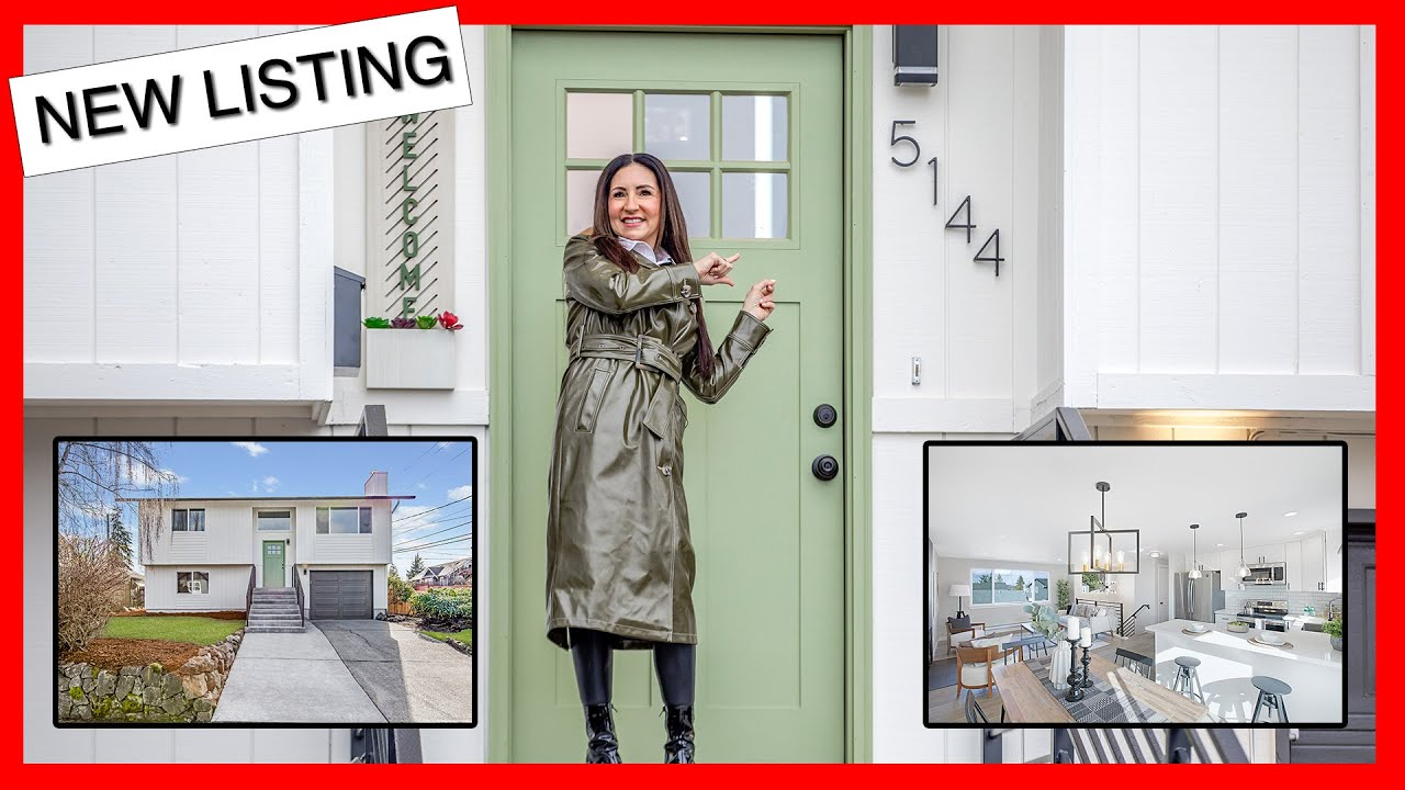 NEW LISTING | 5144 N 47th St Tacoma | Video Highlight 4K | Anne Curry Homes