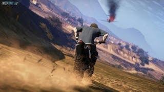 GTA V ONLINE | MrQuoty le roi des cascades à moto... OU PAS ! #2