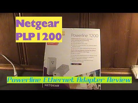 Netgear PLP1200 Powerline Ethernet Adapter Review & Speed Tests