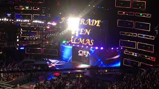 Andrade Cien Almas entrance Brooklyn takeover 2017