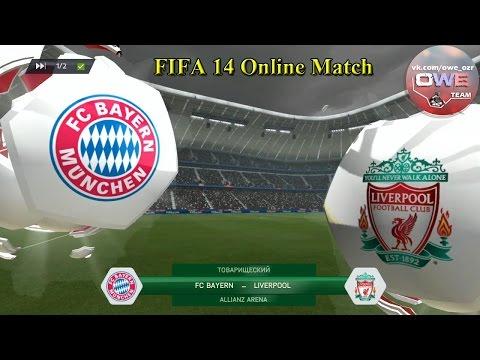 FIFA 14 | Liverpool - FC Bayern | Online Match | PS3