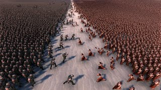 10.000 JESUS vs 10.000 CHUCK NORRIS - Ultimate Epic Battle Simulator