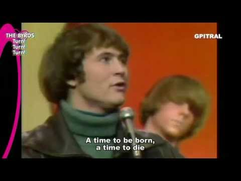 The Byrds Turn Turn Turn lyrics