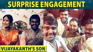 Vijayakanth's Son Full Engagement Video | Vijaya Prabhakaran | DMDK