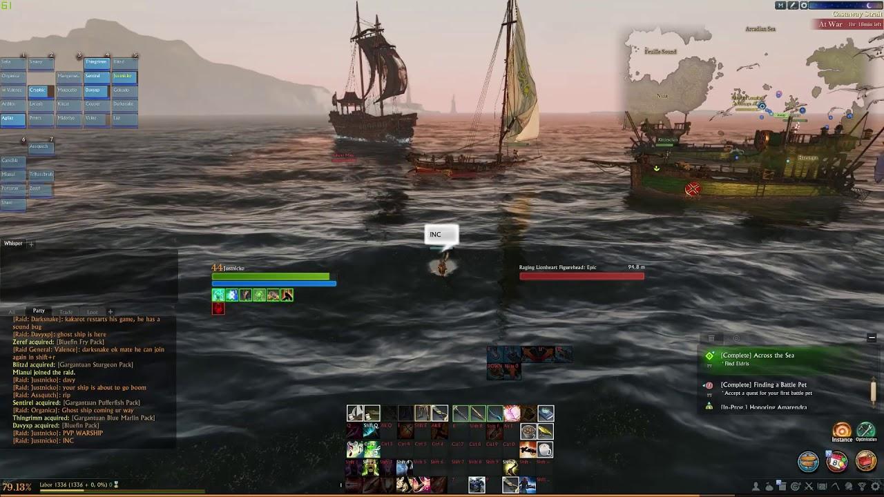 Gally vs fishing boats - YouTube