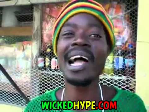 The Best Jamaican Rapper? Rasta Man Spits Some Crazy Rhymes For The Camera