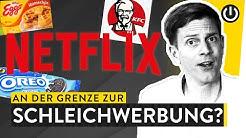 Geheime Werbung auf Netflix: Die perfiden Product Placements bei Netflix Originals | WALULIS