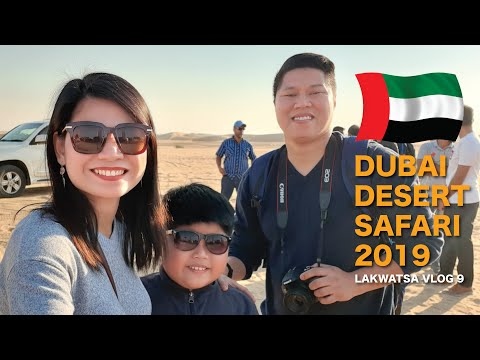 Dubai Desert Safari 2019   Lakwatcha Vlog 9