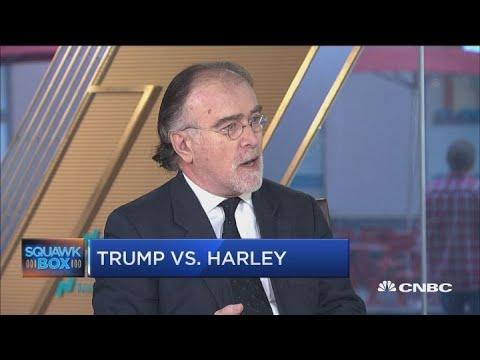 Trade war tensions escalate: Trump vs. Harley