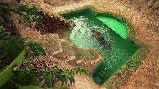 Build Most Awesome Underground Swimming Pool In Front House Underground