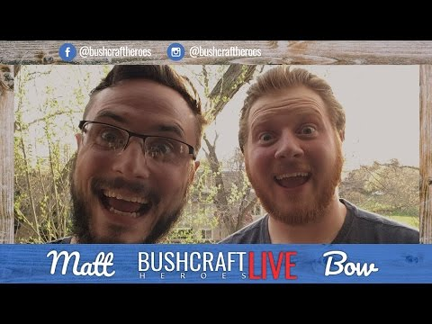 🔴  Bushcraft Heroes - Q&A - Treehouse Talk, Starting a YouTube Channel & More